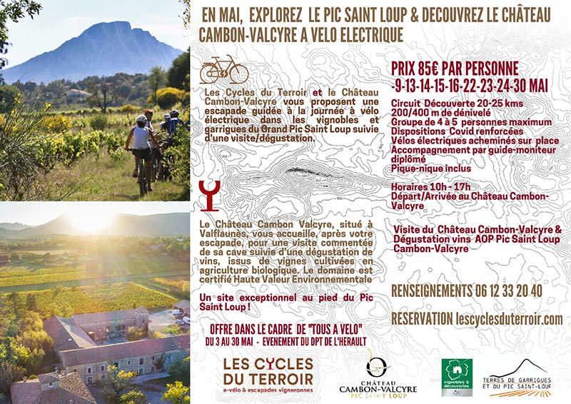 Les cycles du terroir Château Valcyre
