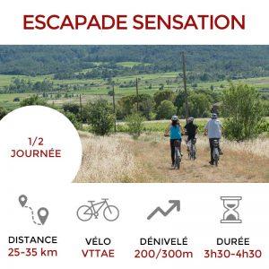 Escapade SENSATION Terres de Garigues - Pic Saint Loup