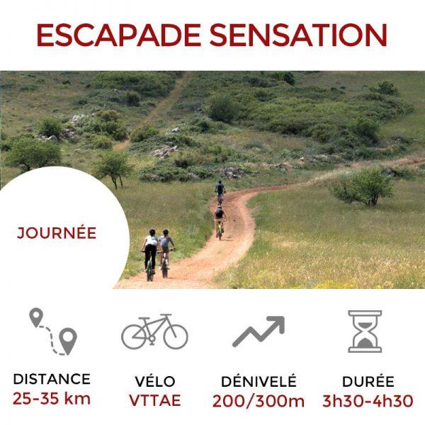 Escapade SENSATION Les Terrasses du Larzac