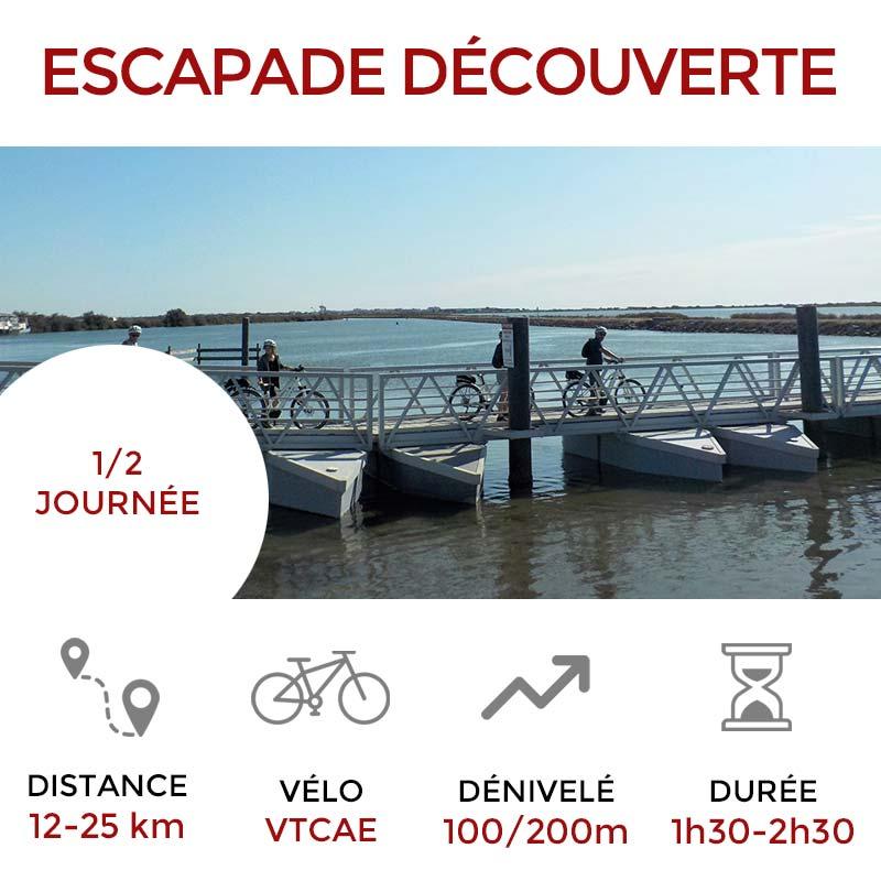 Escapade DÉCOUVERTE Salines de Villeneuve les Maguelone