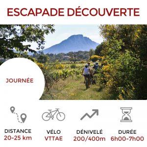 Escapade DÉCOUVERTE Terres de Garrigues - Pic Saint Loup